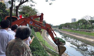 Hà Nội khởi động gói thầu dẫn nước thải hồi sinh sông Tô Lịch