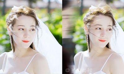 Nhiệt Ba khoe nhan sắc diễm lệ khi diện váy cưới,