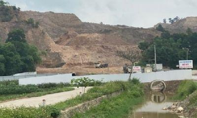 Công ty xi măng Xuân Thành khai thác mỏ khi chưa có giấy phép?