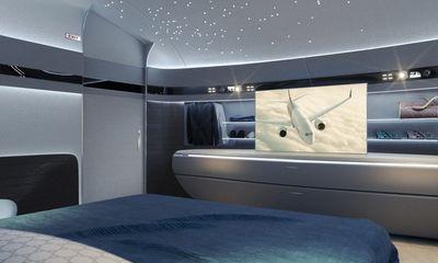 Choáng ngợp với nội thất của máy bay cá nhân xa hoa như tàu vũ trụ tương lai