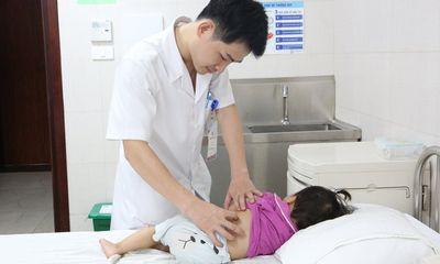 Bé gái có 3 quả thận ở Phú Thọ đã được xuất viện sau phẫu thuật