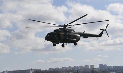 Rơi trực thăng quân sự Nga Mi-8, 4 người thiệt mạng