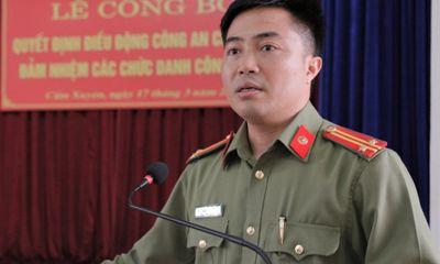 Một trung tá công an ở Hà Tĩnh bị kỷ luật cảnh cáo