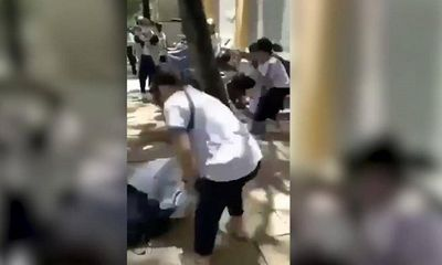 Làm rõ vụ nữ sinh lớp 8 bị bạn nắm tóc, đập đầu xuống nền gạch trước cổng trường