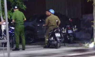 Vụ trung úy công an nổ súng trong quán nhậu, 1 người bị thương: Đình chỉ công tác trung úy