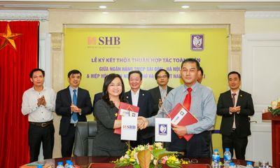 Đồng hành cùng các doanh nghiệp nhỏ và vừa, SHB hợp tác toàn diện với Vinasme