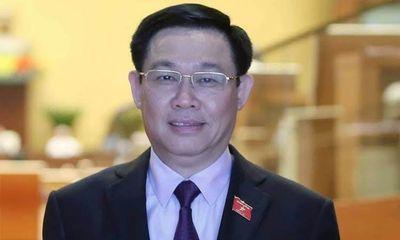 Quốc hội miễn nhiệm chức danh Phó thủ tướng Chính phủ với ông Vương Đình Huệ