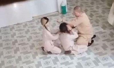 Video: Sư cô túm tóc, tát đồ đệ trong chùa ở TP.HCM gây xôn xao