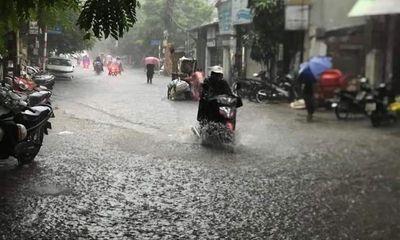 Bão số 1 suy yếu thành áp thấp, các tỉnh miền Bắc mưa dông gió giật
