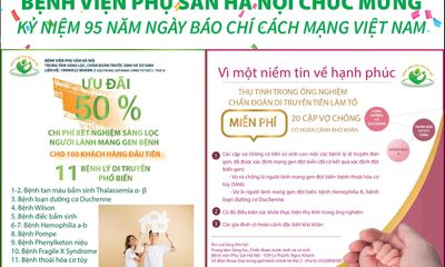Bệnh viện Phụ sản Hà Nội chúc mừng kỷ niệm 95 năm ngày báo chí cách mạng Việt Nam