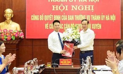 Phó Giám đốc sở GTVT Hà Nội được điều động làm Phó Bí thư huyện Phú Xuyên