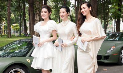 3 người đẹp tên My hội ngộ, đọ dáng bên dàn siêu xe của ông Đặng Lê Nguyên Vũ