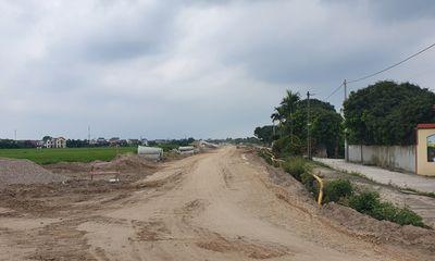 Hải Dương: Dự án khu dân cư mới phía tây thị trấn Nam Sách thi công trái phép?
