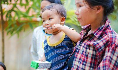 Sữa học đường Quảng Nam: Học sinh miền núi được uống sữa miễn phí