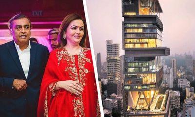 Chiêm ngưỡng siêu biệt thự 27 tầng của tỷ phú giàu nhất châu Á