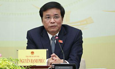 Tổng thư ký Quốc hội Nguyễn Hạnh Phúc: Uỷ ban tư pháp chưa báo cáo kết quả lấy phiếu vụ Hồ Duy Hải