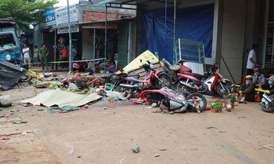 Vụ xe tải lao vào chợ gây tai nạn thảm khốc ở Đắk Nông: Nạn nhân thứ 6 tử vong