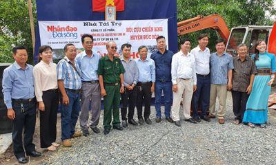 Long An: Xây dựng cầu nghĩa tình đồng đội tại huyện Đức Hòa