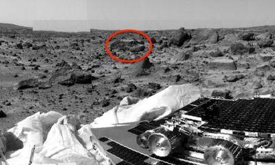NASA tiết lộ hình ảnh con thuyền cổ trên sao Hoả