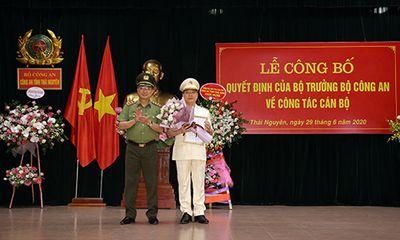Bổ nhiệm Đại tá Bùi Đức Hải giữ chức Giám đốc công an tỉnh Thái Nguyên