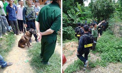 Huy động chó nghiệp vụ truy bắt nghi phạm sát hại hàng xóm ở Sơn La