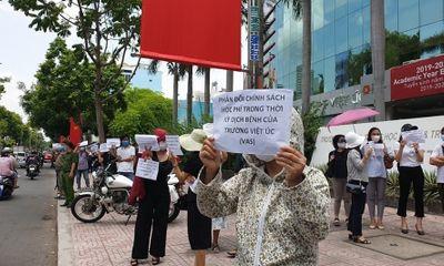 Bất đồng về học phí, trường Quốc tế Việt Úc từ chối dạy 40 học sinh