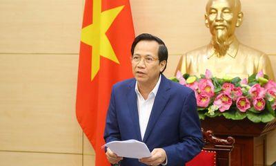 Bộ trưởng Đào Ngọc Dung: Đề xuất giáo viên trường tư được nhận hỗ trợ do Covid-19