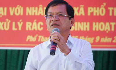 Điều tra việc văn bản cho Bí thư Quảng Ngãi thôi chức bị rò rỉ lên mạng xã hội