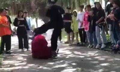 Vụ clip thiếu nữ áo đỏ bị cô gái áo đen đánh dã man: Nguyên nhân do