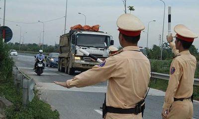 CSGT cấp huyện được tuần tra, xử phạt trên quốc lộ từ 5/8