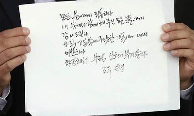 Hàn Quốc hé lộ nội dung lá thư tuyệt mệnh của cố Thị trưởng Seoul