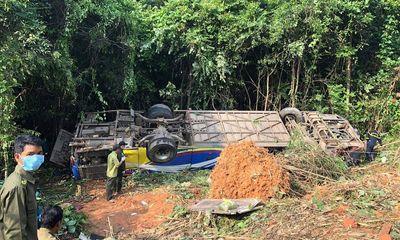 Vụ tai nạn 5 người chết ở Kon Tum: Tài xế thừa nhận xe mất lái