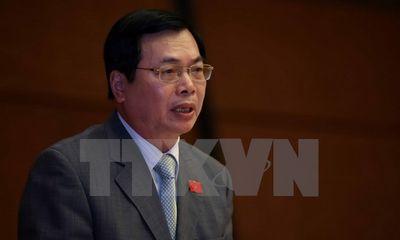 Hoàn tất kết luận điều tra, đề nghị truy tố cựu Bộ trưởng Công thương Vũ Huy Hoàng