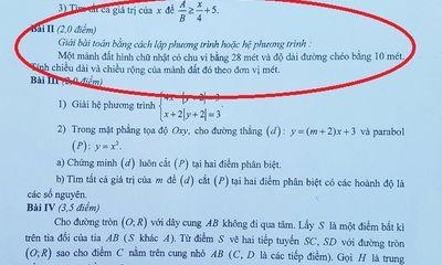 Thi vào lớp 10 THPT: Những dạng bài cơ bản thí sinh cần nắm rõ trong đề thi môn Toán