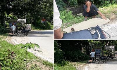 Thực hư vụ cụ ông 80 tuổi tử vong bị tài xế bỏ lại giữa đường, con trai buộc thi thể lên xe máy chở về