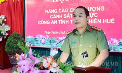 Giám đốc Công an tỉnh Thừa Thiên - Huế được bầu làm Phó Bí thư Tỉnh uỷ