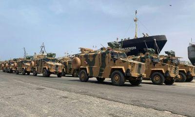 Tin tức quân sự mới nóng nhất ngày 18/7: Thổ Nhĩ Kỳ điều hơn 3.000 tay súng Syria sang Libya