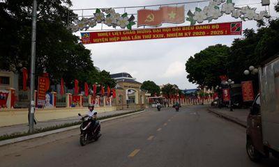 Huyện Hiệp Hòa - Bắc Giang: Sẵn sàng tổ chức Đại hội đại biểu Đảng bộ nhiệm kỳ 2020-2025