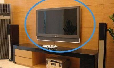 Những điều cấm kỵ khi đặt tivi trong nhà, người giàu