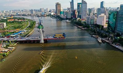 TP.HCM chấp thuận lùi tiến độ hoàn thành dự án cầu Thủ Thiêm 2 đến tháng 9/2021