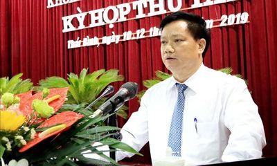 Vụ Phó Chủ tịch tỉnh Thái Bình bị tố được bổ nhiệm