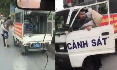Điều tra làm rõ vụ nghi công an mặc quần đùi, áo cộc đi xử lý bán hàng rong ở Hà Nội