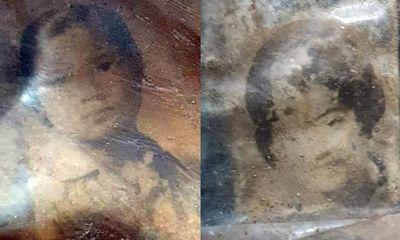 Khai quật hài cốt trong nông trường cao su, phát hiện 2 bức chân dung cô gái