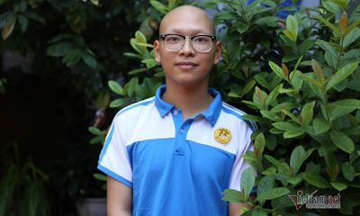 Nam sinh bị ung thư vẫn dự thi tốt nghiệp THPT giữa hai đợt truyền hoá chất