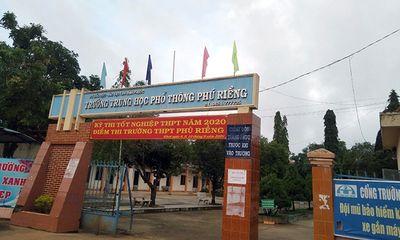 Sai sót cho miễn thi, một thí sinh phải thi bổ sung: Sở GD&ĐT tỉnh Bình Phước nói gì?