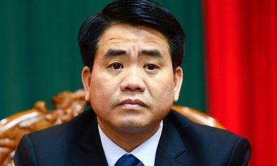 Tạm đình chỉ công tác 90 ngày đối với Chủ tịch UBND TP.Hà Nội Nguyễn Đức Chung