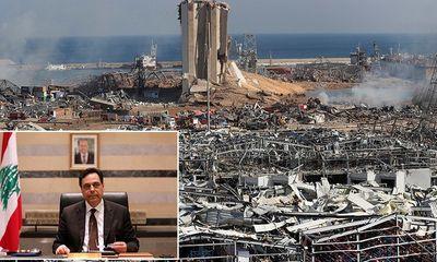 Toàn bộ chính phủ Lebanon từ chức sau vụ nổ khủng khiếp như bom nguyên tử khiến gần 200 người chết