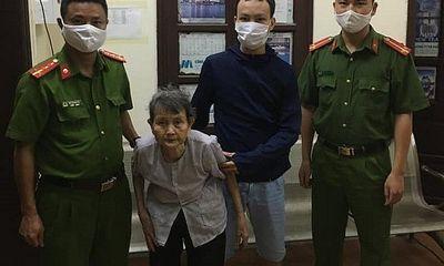 Công an Hà Nội giúp cụ bà đi lạc trở về an toàn với gia đình
