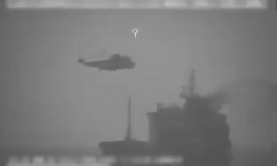 Mỹ bất ngờ tung video cáo buộc lực lượng Iran chiếm tàu hàng tại vùng Vịnh