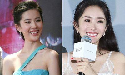 Dương Mịch, Lưu Diệc Phi dù là đại mỹ nhân Hoa ngữ nhưng khi cười hết cỡ, sự xinh đẹp bỗng chốc